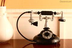Vintage Phone (kosbrick) Tags: lego moc npu paintroller vintagephone ironbuilder