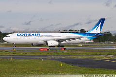 F-HZEN Airbus A330 Corsair International (Maxime Spotting Aviation) Tags: nikon aircraft air bordeaux a33 international airbus corsair airways airlines takeoff maxime avion d90 mrignac a330300 lfbd fhzen camoujuncas