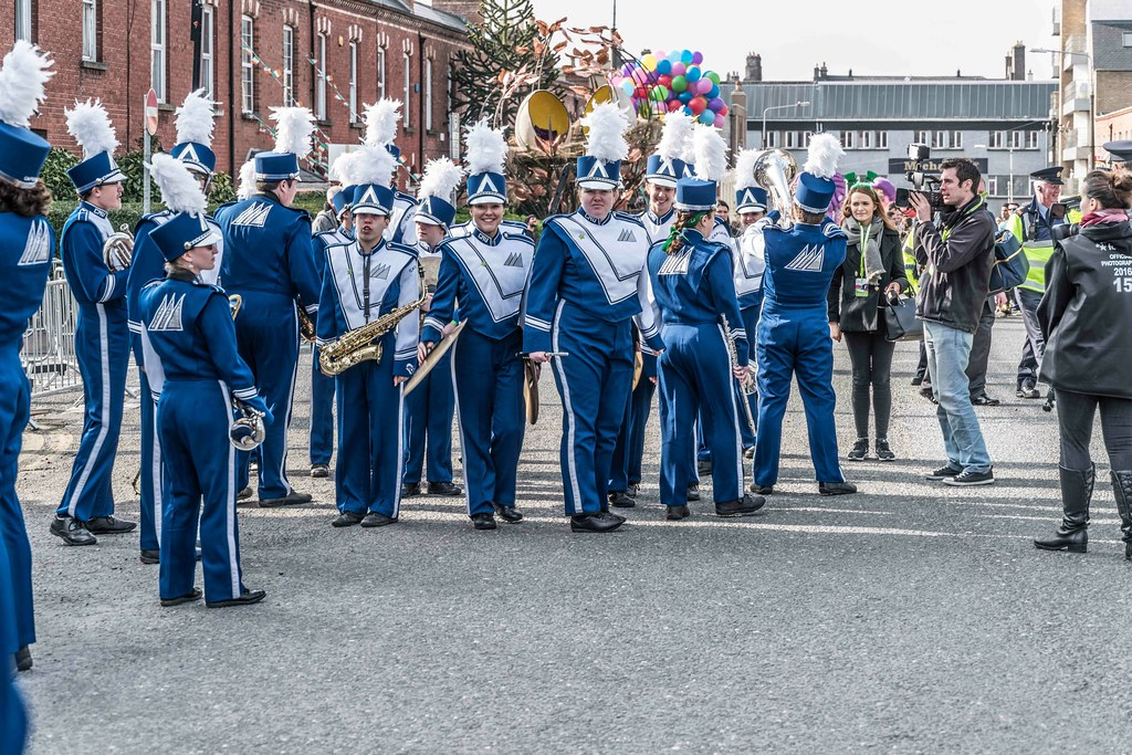 Christopher Newport University Marching Captains-112397