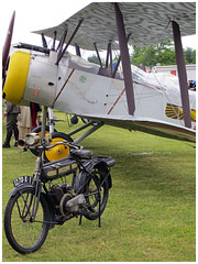 Sopwith 1 1/2 Strutter 1 B 2 (Aerofossile2012) Tags: la aircraft aviation airshow moto motorcycle avion sopwith 2014 terrot cerny fert sopwith112strutter1b2