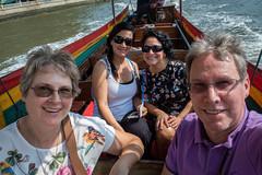 On a Long Boat to Wat Arun (hathaway_m) Tags: thailand bangkok chaophrayariver