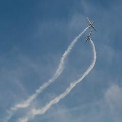 Crossing (Matt H. Imaging) Tags: airplane aircraft sony slt piaggio aerobatics fockewulf sonyalpha fwp149d sal1680z maastrichtaachenairport seagullformation beekforspeed a77ii ilca77m2 slta77ii ilca77ii matthimaging