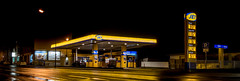 My Jet (e_impact) Tags: blue light yellow night speed germany fun lights movement energy driving transport jet gasstation oil environment dynamics fuel logistics petrolstation tankstelle benzinstation bensaasema mygasstation