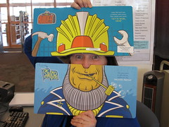 Wearable Books @ Haggard Library, Spring 2016 (plano.library) Tags: wearablebooks bookohats bookobeards bookoteeth library haggardlibrary libraries plano hats beards teeth books ppl planopubliclibrary