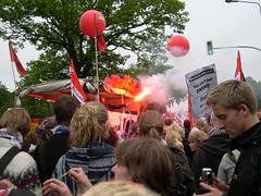 DSCN0858 (kbj102) Tags: germany protest police summit warming rostock global g8 anticapitalism anticapitalist heiligendamm