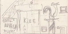 bis vor hundert Jahren waren hier wenige Hfe gestanden. Einige Bauern waren bis heute sehr reich geblieben. Jetzt flanierten ihre zumeist kokainschtigen Enkel in flachen Sportwagen zwischen Prosecco und Cafe Latte (raumoberbayern) Tags: city winter bus fall pencil paper munich mnchen landscape herbst tram sketchbook stadt papier landschaft bleistift robbbilder skizzenbuch strasenbahn