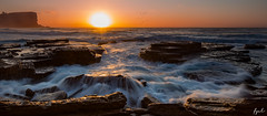 Awakening (FPL_2015) Tags: ocean seascape water landscape rocks waves sydney australia nsw avalon northernbeaches leefilter canon6d gnd09 canon1635f4lis