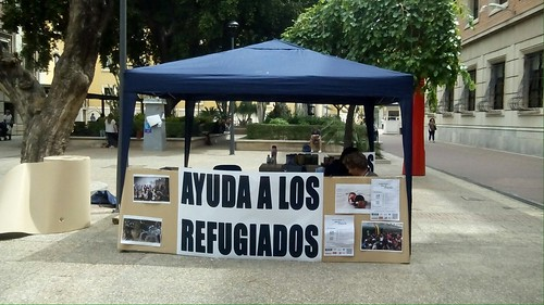 Universidad de Murcia con los refugiados