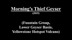 Morning's Thief Geyser (2015) (HD) (James St. John) Tags: fountain group basin thief yellowstone mornings wyoming lower geyser erupt eruption erupting morningsthief