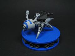 Insektor (Karf Oohlu) Tags: insect lego scout mecha droid moc