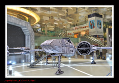 The Force Awakens @ Changi Airport 16 (Lord Dani) Tags: starwars changiairport t70 incom theforceawakens resistancexwing