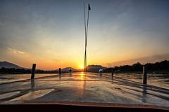 Sunset - Mekong River (regan.klemm) Tags: sunset laos mekongriver luangprabung