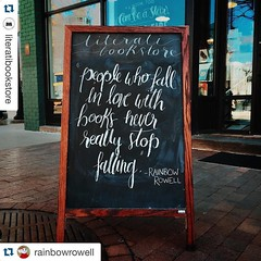 It's National School Librarian day. Thank you to my librarian inspirations. You are my heroes. @buffyjhamilton @jennlagarde @nikkidrobertson @itsmemolleeb #Repost @rainbowrowell with @repostapp.  #Repost @literatibookstore with @repostapp.  (PTank Media Center) Tags: school its day with you thank national librarian repost inspirations  buffyjhamilton rainbowrowell repostapp literatibookstore jennlagarde itsmemolleeb heroes nikkidrobertson