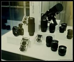 CONTAX DISPLAY. (adriangeephotography) Tags: camera zeiss lens photography nikon kodak slide adrian kodachrome gee vivitar nikkormat series1 3585mmf28 adriangeephotography