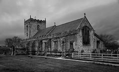 345/365 Stonework (images@twiston) Tags: blackandwhite bw church monochrome stone architecture mono stonework lancashire churchyard 365 stmary built gisburn stmarythevirgin ribblevalley stonebuilt