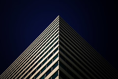 Pyrmidal (Darren LoPrinzi) Tags: city light shadow sky urban abstract building philadelphia architecture canon dark triangle shadows pyramid centercity geometry symmetry architectural 5d canon5d philly lowkey miii pyramidal urbanabstract urbanfragments architecturalabstract