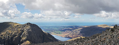 Central Lakes 13 (Ice Globe) Tags: park blue sky panorama cloud mountain lake mountains west water station 35mm landscape coast landscapes nikon power view cloudy district sca panoramic rake national cumbria western scafell coastline pike viewing fell lords wast wasdale sellafield d5100
