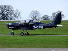 G-CIWI Light Sport Aviation EV-97 Eurostar SL cn 2015-4227 Sywell 23Apr16 (kerrydavidtaylor) Tags: ev97 aerotechnik