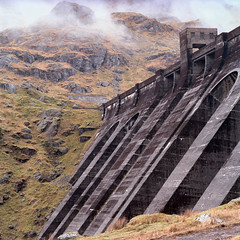 Sloy dam (Adam Fowler) Tags: film hasselblad hydroelectric asa100 sloy hasselblad503cw kodakektar100