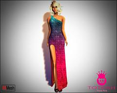 Rainbow and more ❤❤❤ (Gizem Kiranov) Tags: pink girls love colors 3d rainbow purple sl secondlife virtual blonde second 3dgirls