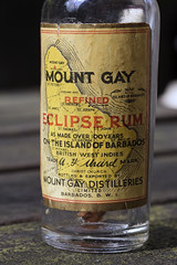 Mini Mount Gay (Arne Kuilman) Tags: miniature bottle label barbados packaging rum dtd mountgay eclipserum