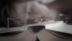time to sleep (Matiluba) Tags: me face self glasses book sleep rest nikond300s