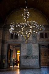 Hagia Sofia Lamp (kayerikssen) Tags: history turkey site istanbul historic hagiasofia