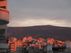 IMG_0706 (diomedes01) Tags: sunset red sun set montagne athens mount mont fou athina  ilisia zografou              hemmetus