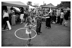 skills (peterjcb) Tags: street leica portrait 35mm hoop photography hula skills m monochrom juggling performers asph summicronm