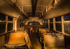 The War of Words (Thomas Hawk) Tags: california usa bus abandoned williams fav50 unitedstatesofamerica muni sfmuni busgraveyard fav10 fav25
