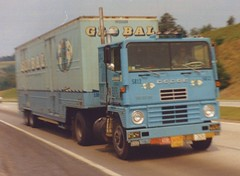 "Dodge LN1000 ""Global"" (PAcarhauler) Tags: tractor truck semi dodge trailer coe cabover"