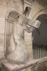 Christ carrying cross (quinet) Tags: statue germany christ jesus christus 2012 castleroad burgenstrase