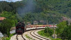 Through Eliseyna (Radler.z) Tags: engine steam gorge locomotive 2692 2124  4603 bdz iskar      elisyna