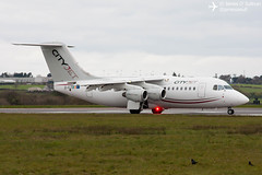 CityJet Avro RJ-85 EI-RJO, with beacon, about to turn for departure on RWY35 at Cork Airport today. (James O' Sullivan) Tags: ireland canon photography photo airport photos aircraft cork aviation sigma airline avro rj85 canoncamera corkairport canonphotos sigma70300 sigmalens cityjet sigma70300mm canonphotography avgeek avrorj85 canonphoto aviationphotography aviationphotos avrorj canon450d sigmaphoto aviationphoto sigmaphotography sigmaaviation sigmaphotos