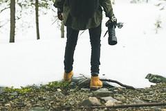 Ana the traveller (Kysti Ilmari Kernen) Tags: winter portrait nature canon finland landscape outdoors adventure explore portraiture eos550d kystikernen anttiniiranen ilmariwanders