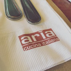 Aria Cucina Italiana #travel #food #aria #boracay  #familyvacation (Daniel Y. Go) Tags: square gingham squareformat iphoneography instagramapp uploaded:by=instagram