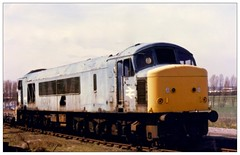 46007 Swindon Works (Buzz688) Tags: up june 1982 swindon harry torch works months february 1985 withdrawn cutters 46007