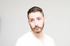 (Damien Cox) Tags: uk gay portrait selfportrait man male me face self ego myself beard eyes nikon masculine tshirt ears moi autorretrato scruff stubble i damiencox damiencoxcouk