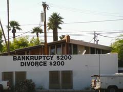 Hmmm... (realdauerbrenner) Tags: arizona usa phoenix america divorce amerika 2016 bankruptcy