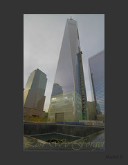 FreedomTower (HDR) (Discover Life (Mohit D)) Tags: new york nyc tower freedom memorial 911