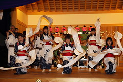 Rokusai Nenbutsu Odori Performance (Teruhide Tomori) Tags: festival japan night dance kyoto stage performance   tradition    rokusainenbutsu