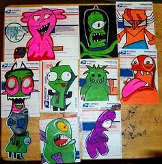 nazer26 graffiti stickers (Wizards_Stickers) Tags: graffiti stickers can spray crew labels usps slaps collabs mtsk cholowiz nazer26