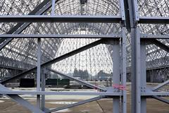 Hangar One: Looking South (Ian E. Abbott) Tags: hangar airship siliconvalley mountainview dirigible moffettfield hangarone hangar1 nuq aviationhistory knuq ussmacon moffettfederalairfield airshiphangar nasmoffettfield navalairstationmoffettfield dirigiblehangar