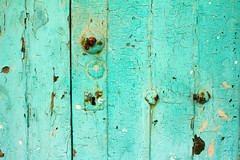 green and rusting (Serenae) Tags: ocean africa door travel blue green art architecture coast town gate lock north historic atlantic morocco historical traveling tangier moroccan tanger asilah