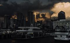 orange clouds (efrainsalvadorjr) Tags: zeiss landscape downtown cityscape dramatic sandiegoskyline carlzeiss biogon landscapephotography sandiegoharbor sonyalpha biogon28mm sandiegoferry sonya7r