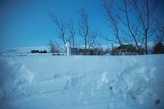 IMG_9833 (arnthorr) Tags: winter snow snjór vetur bústaður arnþór ljósaskipti arnthorr arnþórragnarsson arnthorragnarsson snjóveggur