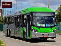 Viação Gato Preto  1 2427 - CAIO Millennium BRT - Scania K310UB 6x2 (busManíaCo) Tags: 1 millennium caio brt scania 2427 rodoviário 6x2 busmaníaco viaçãogatopreto nikond3100 k310ub