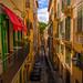 Alley in Palma de Mallorca