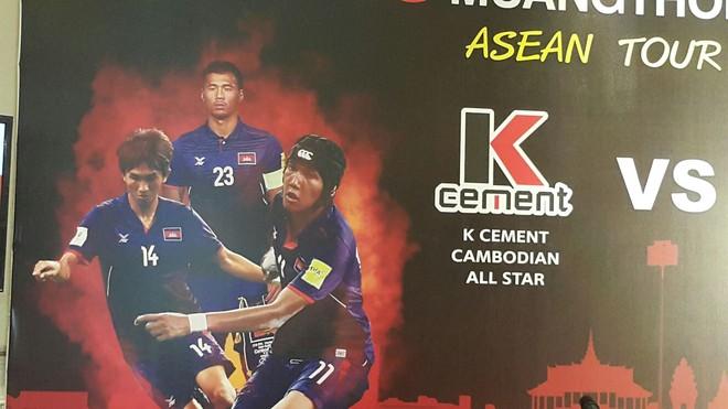 ក្រុម SCG MUANGTHONG UNITED ASEAN ប្រកួតជាមួយ K-Cement Cabodian All Star យកថវិកាជូនមន្ទីរពេទ្យគន្ធបុប្ឆា