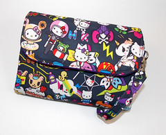 Gusseted Double Zip Wristlet Dream World 4 (The Happi Hippo) Tags: wallet jujube tokidoki thehappihippo